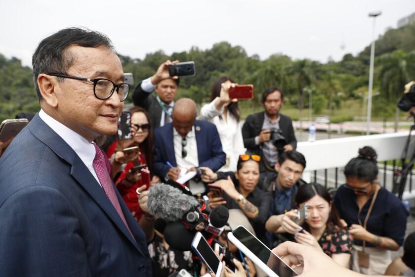 Malaysia Cambodia Opposition