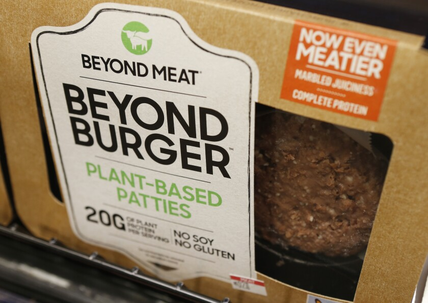 Beyond Burger patties