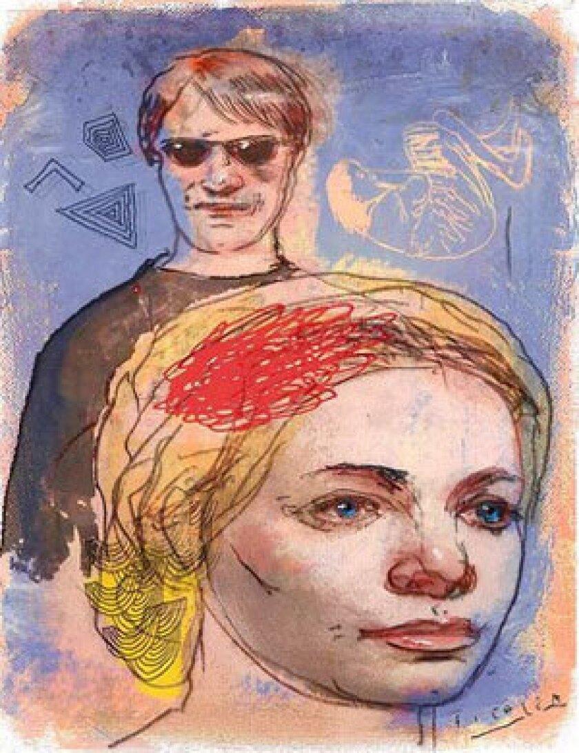 "Illustration for David Ulin's review of Dana Spiotta's novel ""Stone Arabia."""