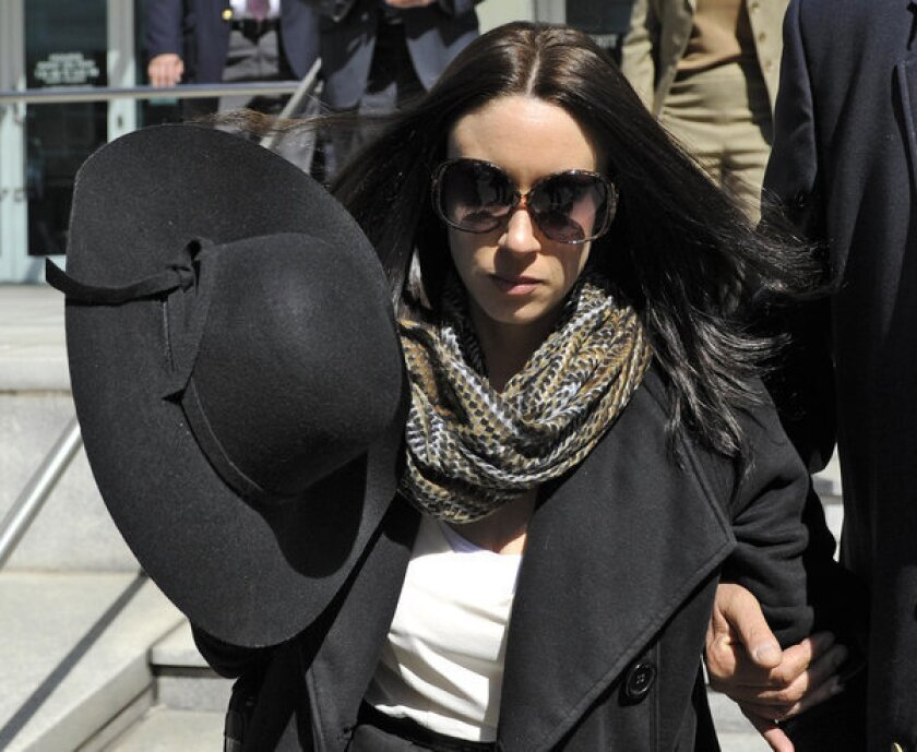 Casey Anthony leaves the federal courthouse in Tampa, Fla., after a bankruptcy hearing last month.