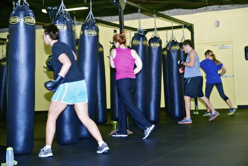 Fitness is in the bag with CKO Kickboxing workouts - Del Mar