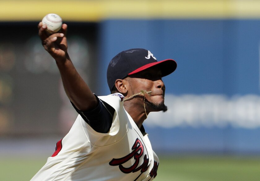 Seller: Sounds like the Braves realized 2017 and the opening of their new park is around the corner. The days of trading players like Julio Teheran for prospects are over, he told G.M. John Coppolella told Fox Sports' Ken Rosenthal.