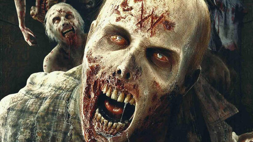 """A year-round """"Walking Dead"""" maze is set to debut this summer at Universal Studios Hollywood."""
