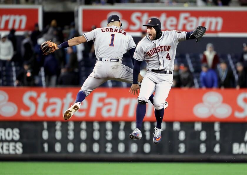 BESTPIX - League Championship Series - Houston Astros v New York Yankees - Game Four