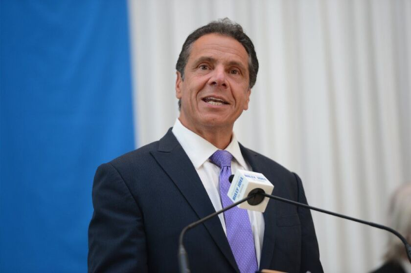 Gov. Cuomo says he had nothing to do with a controversial mailer attacking Nixon's position on multiple Jewish issues (Susan Watts/New York Daily News)