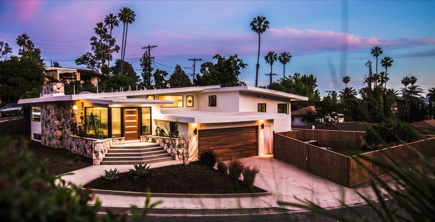 Record-setting Midcentury home in Eagle Rock | Hot Property