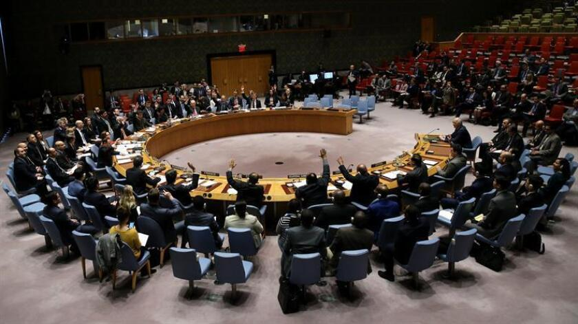 """Rusia arremetió hoy en la ONU contra el Gobierno del Reino Unido por su versión del envenenamiento del exespía Serguéi Skripal y su hija Yulia y avisó a Londres de que """"está jugando con fuego"""" y se arrepentirá. EFE/Archivo"""