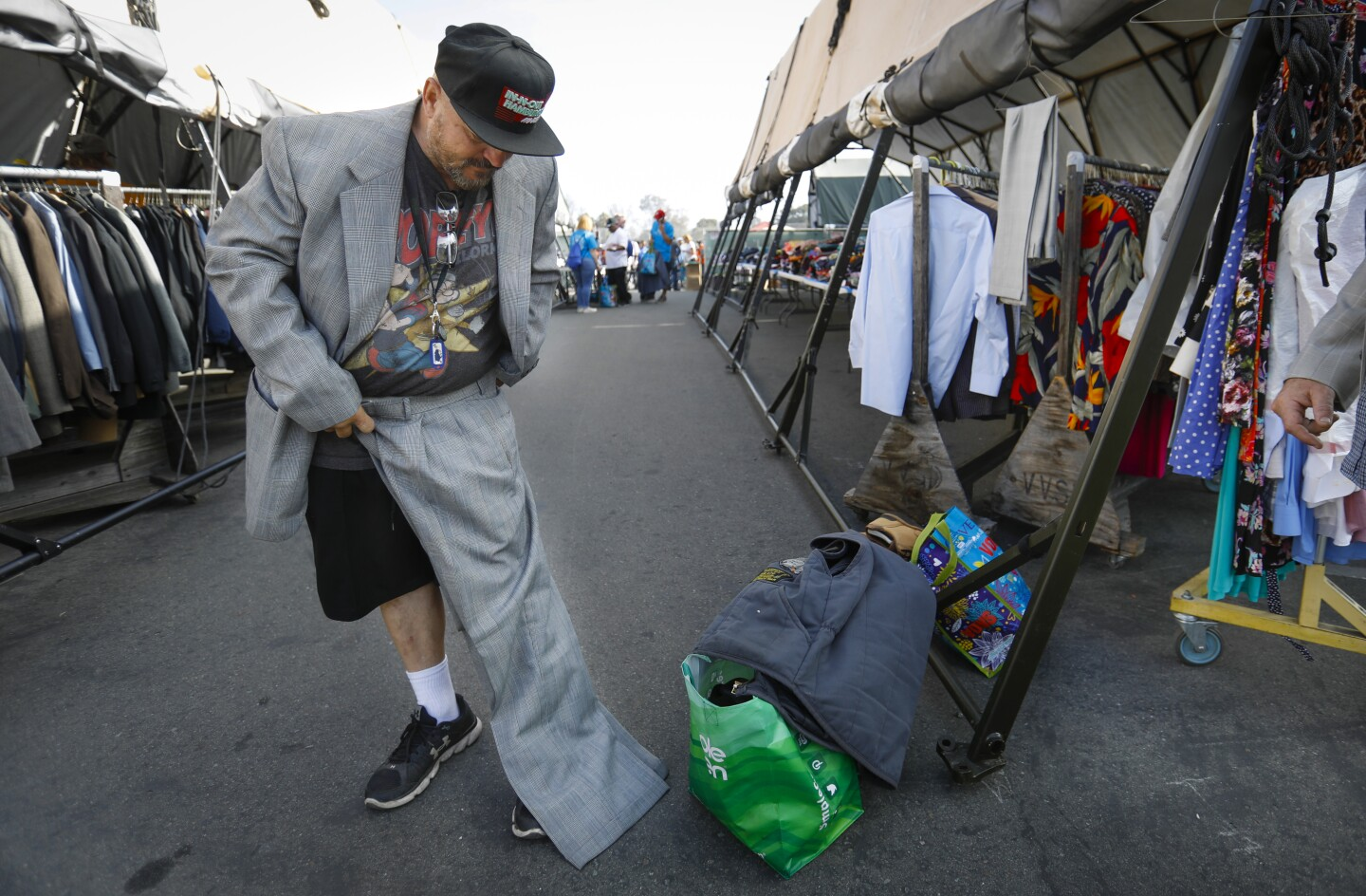 Annual three-day event helps homeless vets