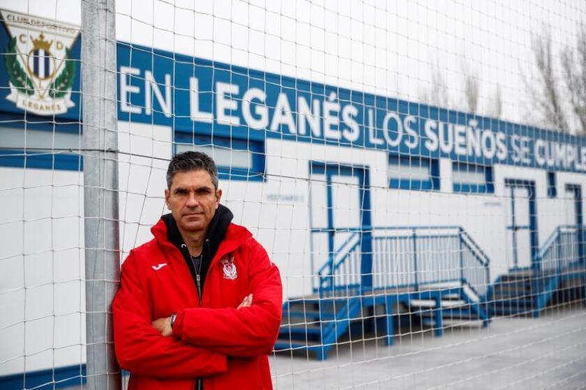 Mauricio Pellegrino, entrenador del Leganés, durante la entrevista que ha ofrecido a EFE. EFE