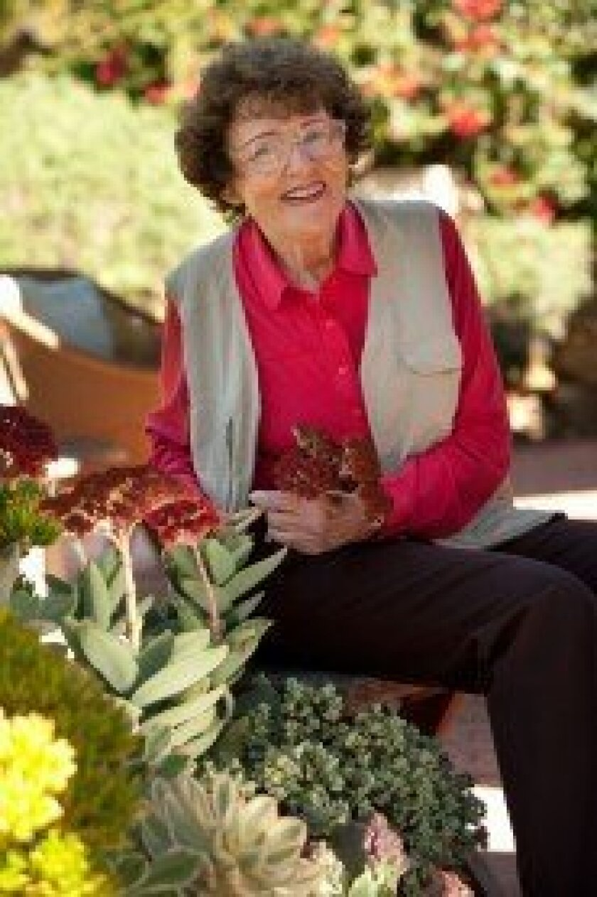Del Mar resident and gardening expert Pat Welsh will teach community members how to select, grow and divide cymbidiums orchids during a Del Mar Garden Club-hosted lecture and plant sale March 24 at the Powerhouse Community Center. Courtesy photos