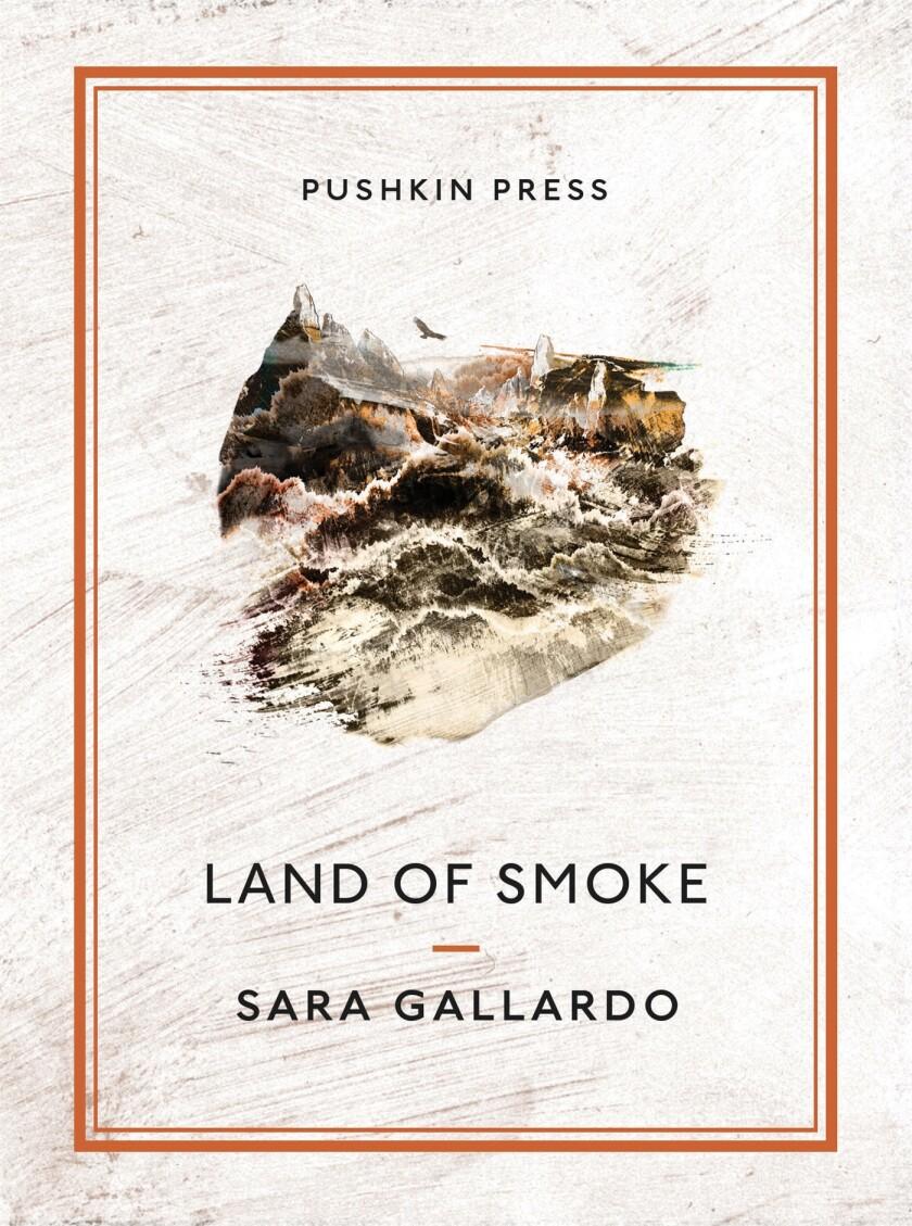 """Book jacket for """"Land of Smoke"""" by Sara Gallardo."""