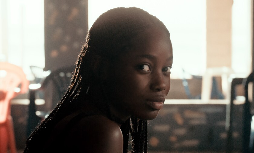 "Mame Sané in the movie ""Atlantics."""