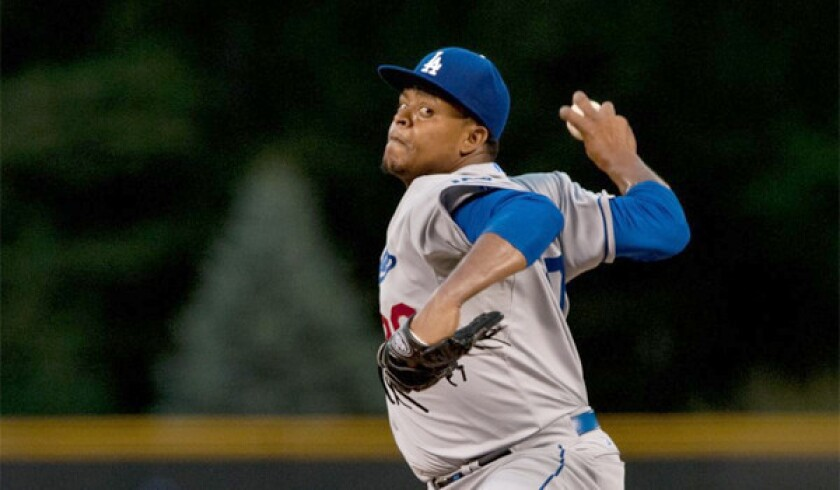 Dodgers are not discouraged by Edinson Volquez's performance in 7-5 loss to Rockies