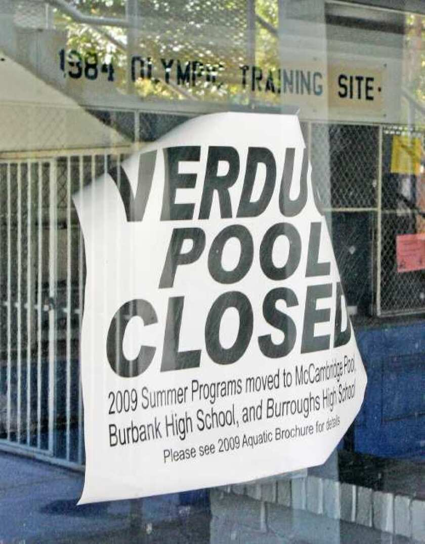 Council approves $5.2M Verdugo Pool makeover