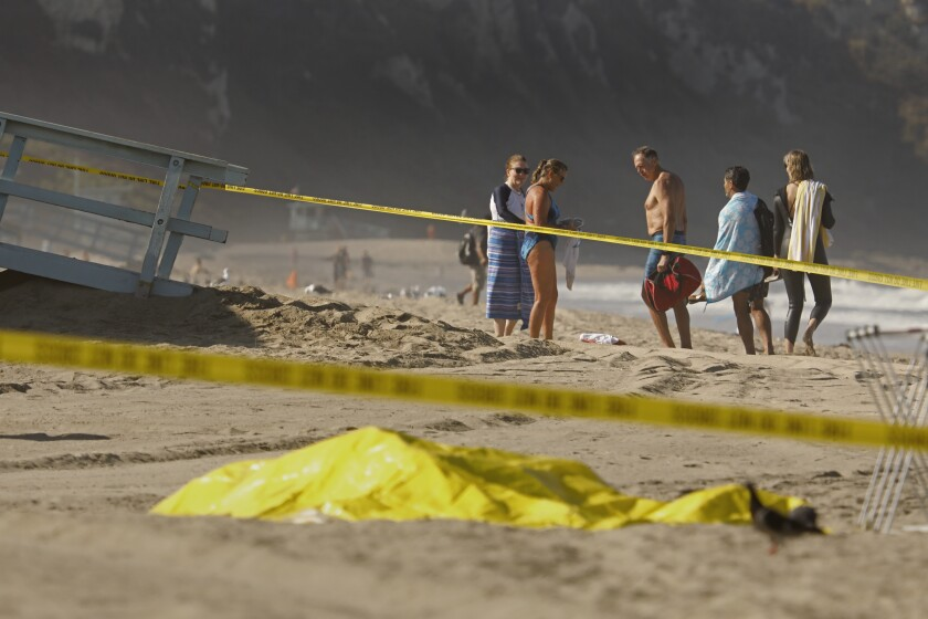 Two bodies discovered on the beach
