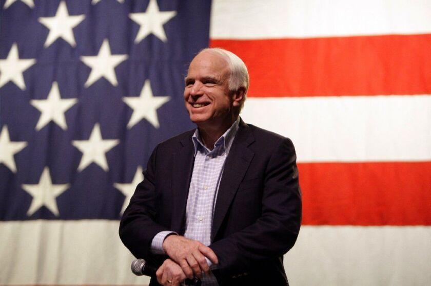Sen. John McCain will be replaced by former colleague Jon Kyl.