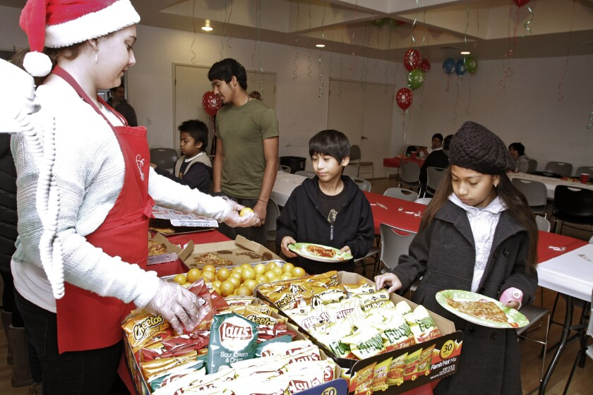 Glendale's National Charity League holiday party
