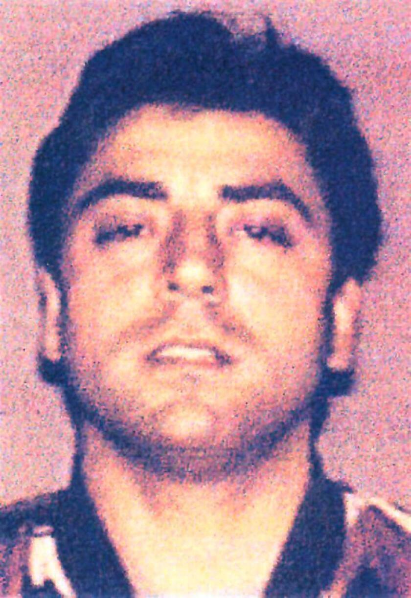Fotografía cedida por la Oficina de Prensa de la Policía Italiana hoy viernes 8 de febrero de 2008 que muestra al jefe mafioso Frank Cali de 43 años de edad. EFE/ POLICE/SOLO USO EDITORIAL