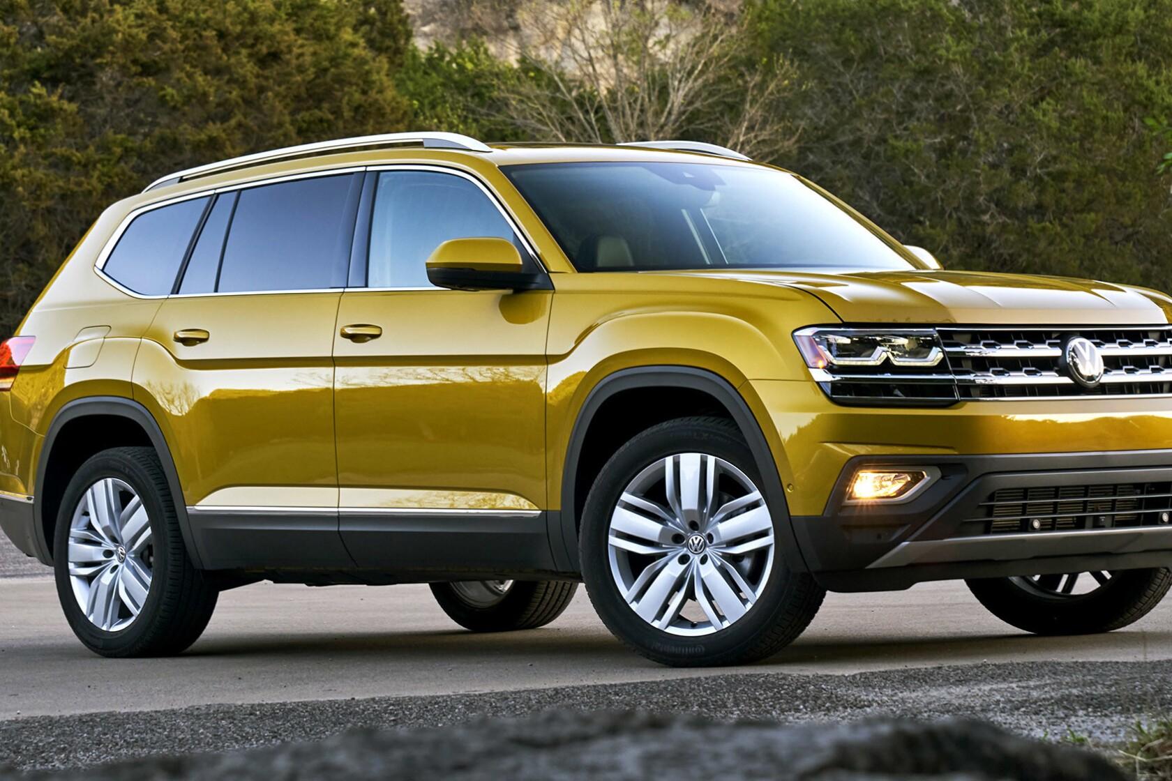 Vw Suv 2017 >> Review 2018 Vw Atlas Finally A Full Size Volkswagen Suv