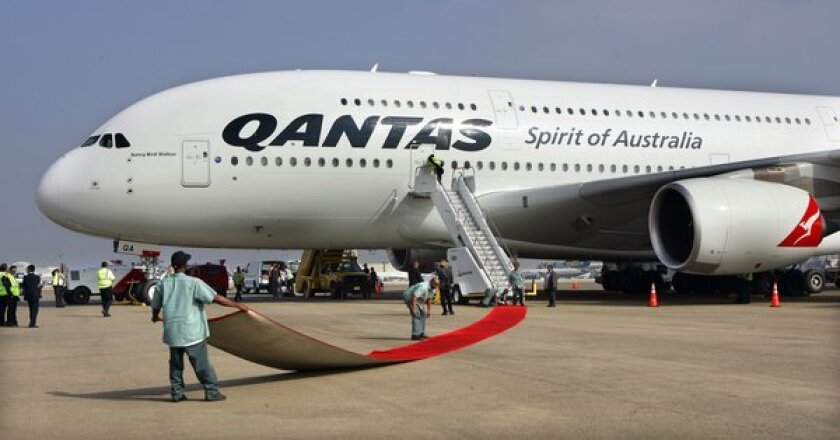 Qantas Airlines will begin supplying its fliers with flight-length books.