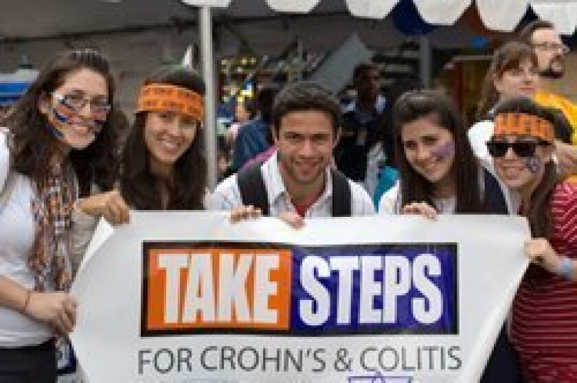 Participants in a past Take Steps walk.