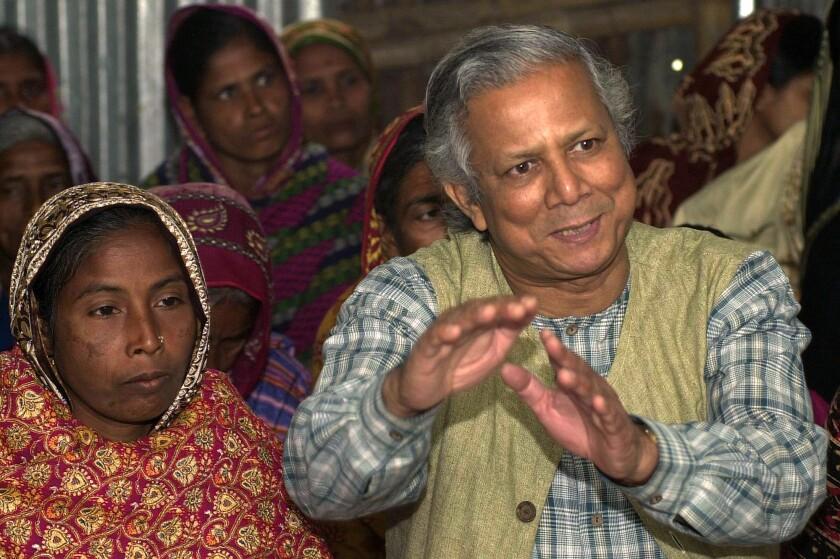 Muhammad Yunus visits Los Angeles to launch Grameen America locations