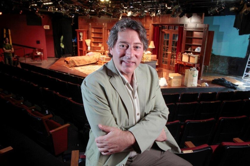 "North Coast Rep artistic chief David Ellenstein is directing the Solana Beach theater's production of ""Freud's Last Session,"" opening this weekend."