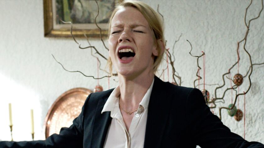 "Sandra Hüller as Ines in ""Toni Erdmann."""