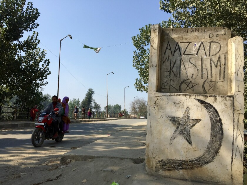 Young men in Kashmir are disappearing from their homes. Friends say they're going to fight India