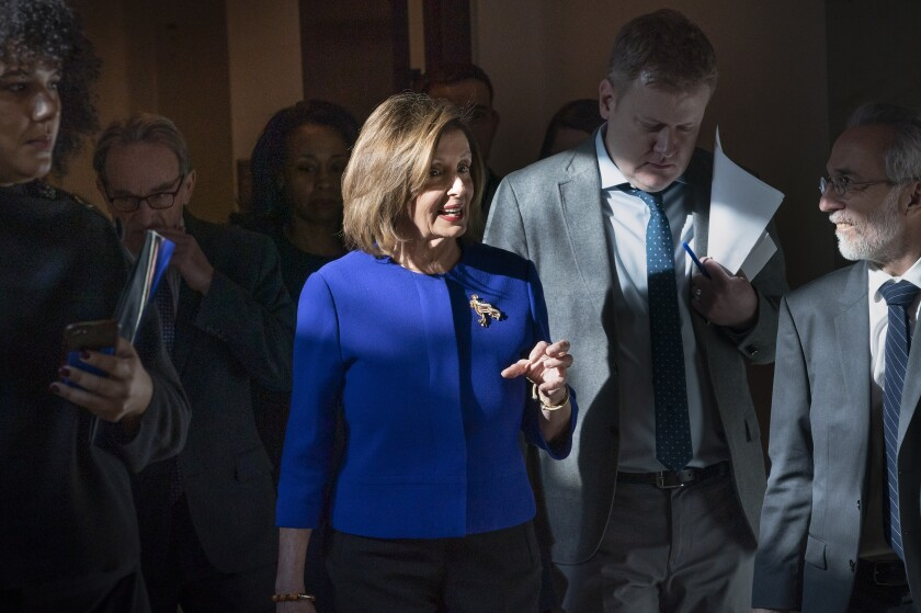 House Speaker Nancy Pelosi (D-San Francisco)