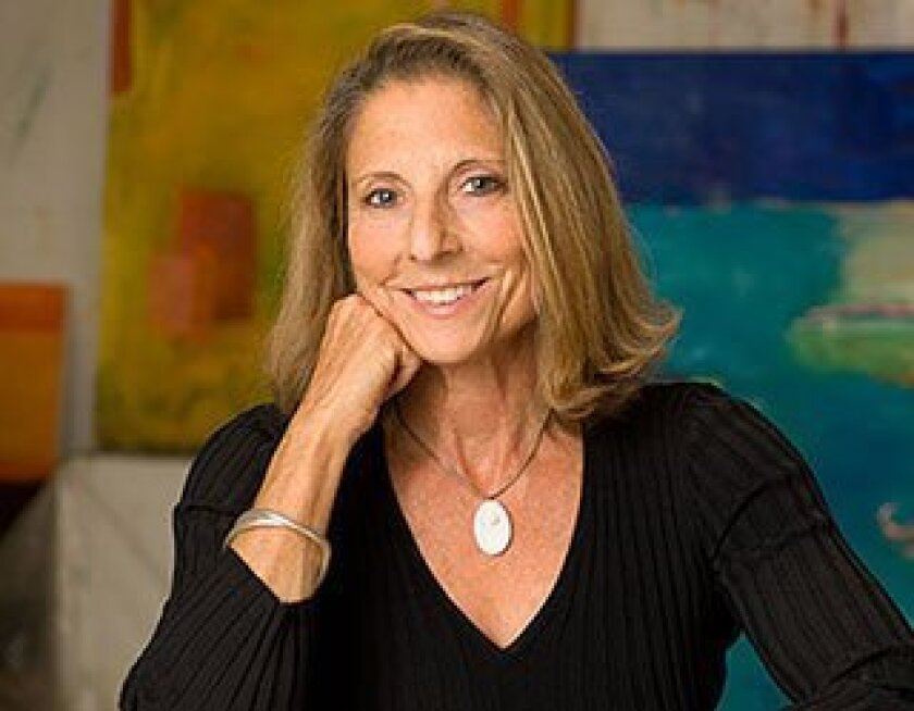 Artist Pia Stern.