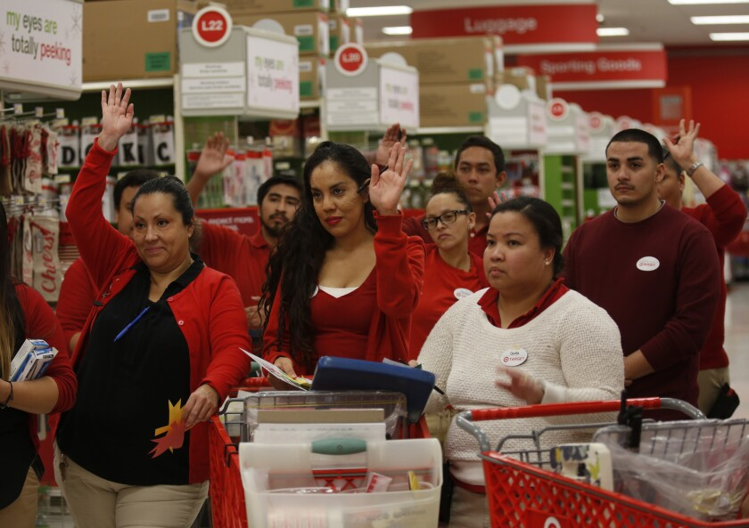 Retail workers