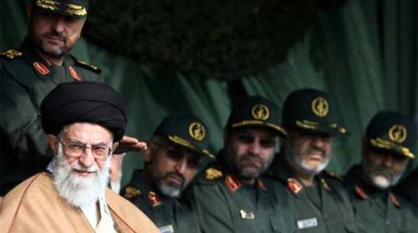 Ayatollah Ali Khamenei, shown at a 2007 gathering of Basij militia forces with Revolutionary Guard commanders in Tehran, is regarded in Iran as the highest-ranking cleric in Shiite Islam. In a speech, he warned opposition leaders and the West. His address was the latest attempt to divide a movement that continues despite months of arrests and violent reprisals.