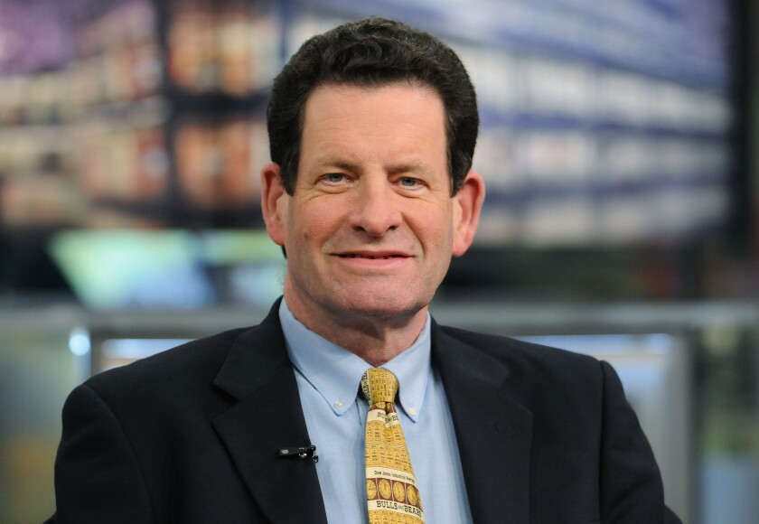 Kenneth Fisher, founder and chairman of Fisher Investments, during a television interview.