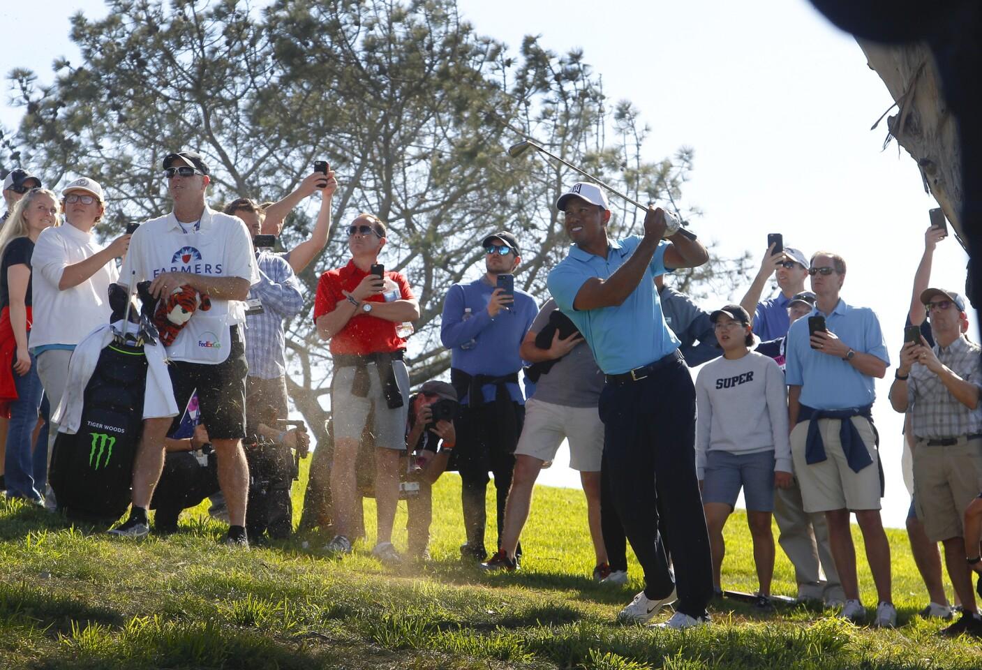 Tiger Woods returns to golf