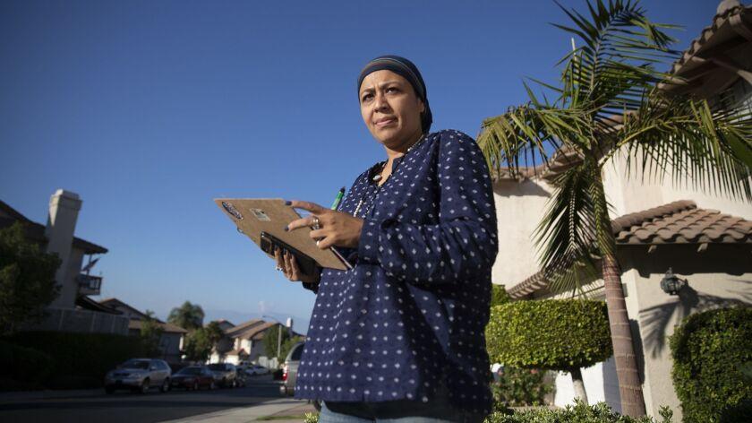CORONA, CALIF. -- FRIDAY, OCTOBER 5, 2018: Corona district 4 city council candidate Fauzia Rizvi,