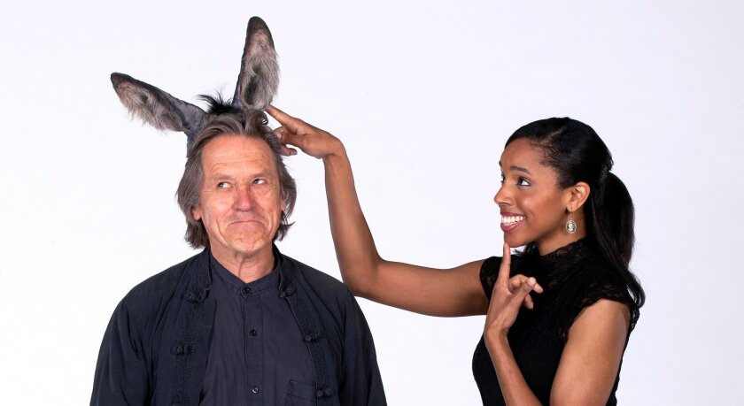 """All Ears: Miles Anderson will play Bottom and Krystel Lucas will portray Titania in the Old Globe Shakespeare Festival production of """"A Midsummer Night's Dream."""""""