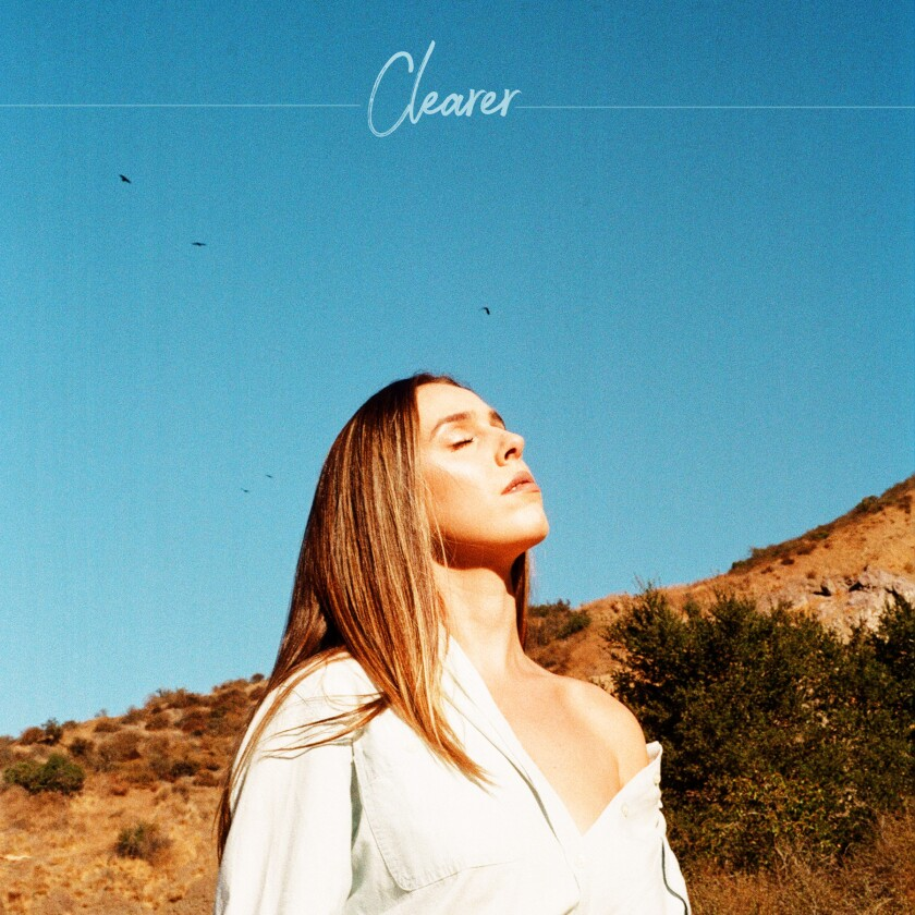 """Jackie Foster's new single, """"Clearer,"""" released recently."""
