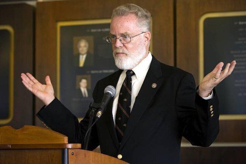 SDSU President Stephen Weber is retiring in July.