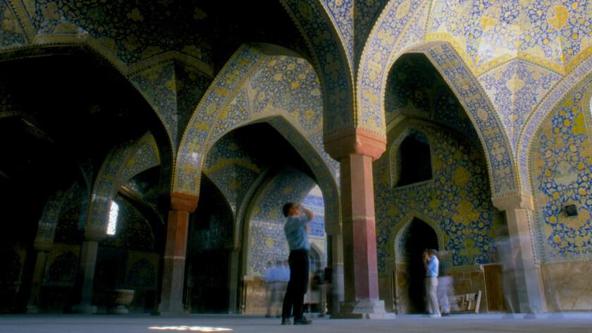 Shah or Imam Mosque, Isfahan, Iran, 1998.