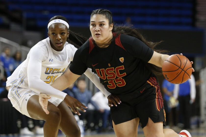 Alissa Pili, the Pac-12 freshman of the year, will be looking to help USC play the role of spoiler in the Pac-12 tournament.