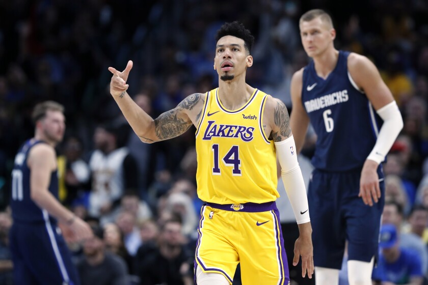 Lakers Danny Green Falls Into Union Role It S A Good Fit Los Angeles Times