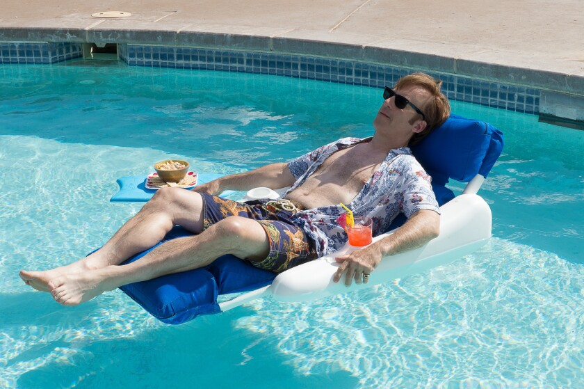 """Jimmy McGill (Bob Odenkirk) puts his legal career on hold in the Season 2 premiere of """"Better Call Saul."""""""