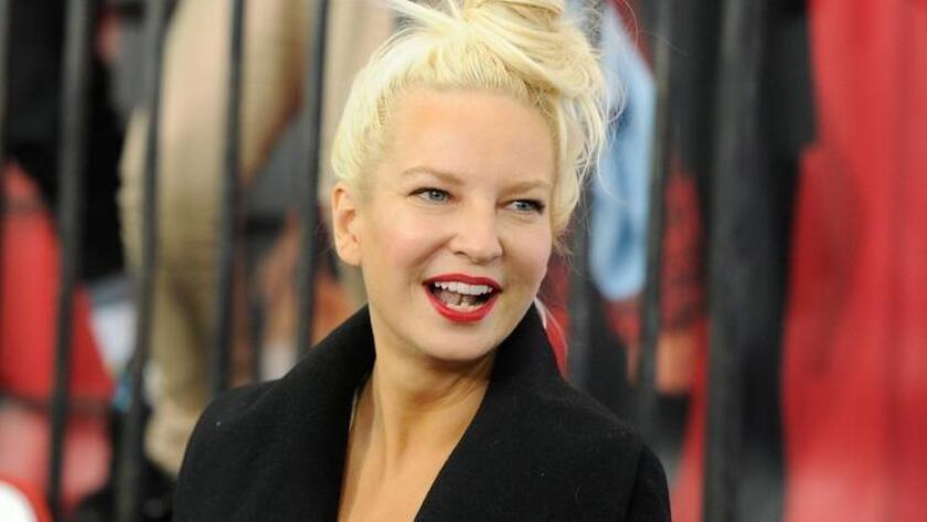 "FILE - In this Dec. 7, 2014 file photo, singer Sia Furler attends the world premiere of ""Annie"" at the Ziegfeld Theatre in New York. (Photo by Evan Agostini/Invision/AP, File) (/ The Associated Press)"