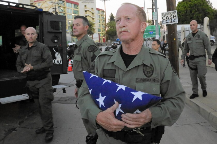 Slain Pomona officer known for contagious smile - Los