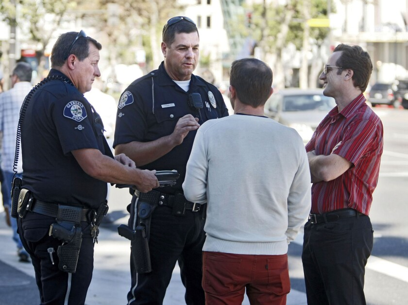 Photo Gallery: Glendale Police conducts pedestrian violations operation