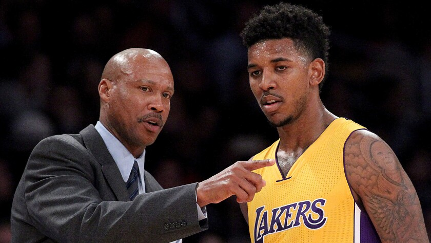 Byron Scott, Nick Young