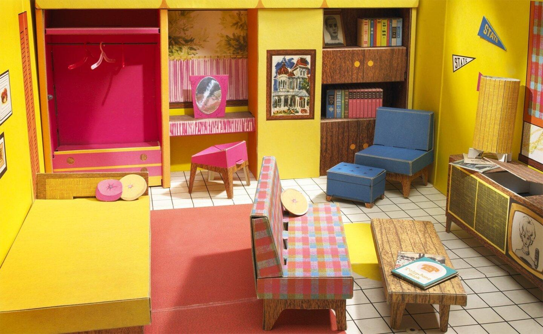 Evolution of Barbie's Dream House