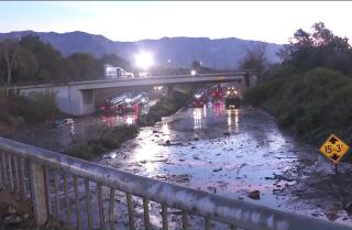The 101 Freeway will reopen next Monday after mudslides