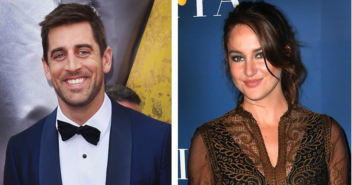 Who is Aaron Rodgers' mystery fiancée? It's Shailene Woodley - Los Angeles Times